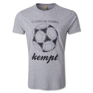 hidden Kempt Soccer O Jogo De Futbol T Shirt