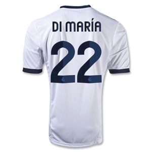 adidas Real Madrid 12/13 DI MARIA Home Soccer Jersey