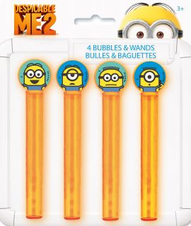Despicable Me 2   Bubble Tubes Wands