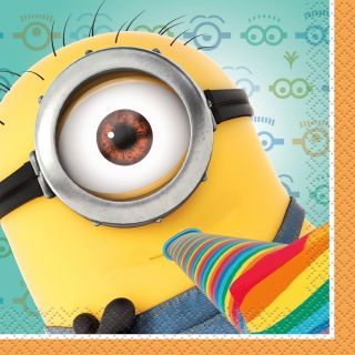Despicable Me 2   Beverage Napkins