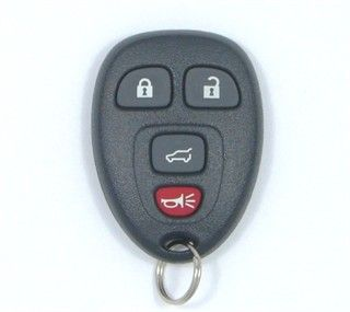 2008 Buick Enclave Keyless Entry Remote w/ Rear Glass
