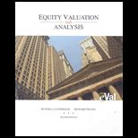 Equity Valuation and Analysis   With Evaluation CD