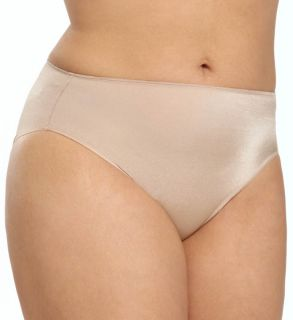 TC Fine Intimates A4 004 Microfiber Wonderful Edge Hi Cut Brief Plus Panty