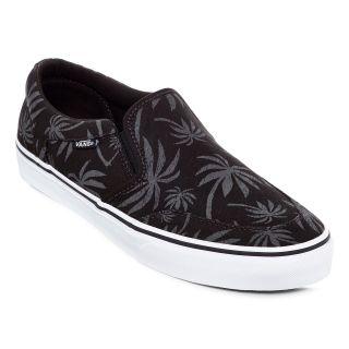 Vans Asher Mens Skate Shoes, Blk/pewter