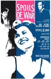 Spoils of War (Original Broadway Theatre Window Card)