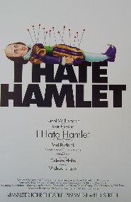 I Hate Hamlet (Original Broadway Theatre Window Card)