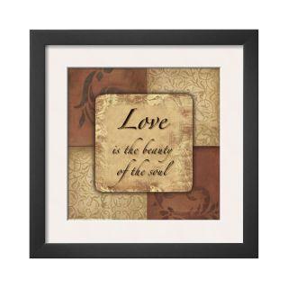 ART Love Framed Print Wall Art