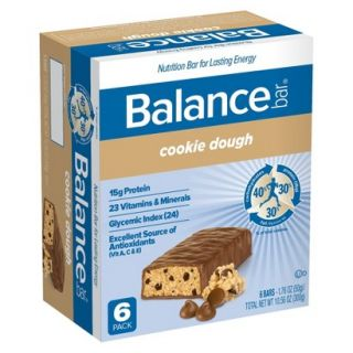 Balance Bar Cookie Dough Bars   6 Bars