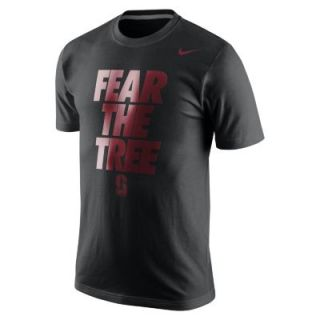 Nike College Local Cotton (Stanford) Mens T Shirt   White