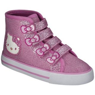 Toddler Girls Hello Kitty High Top Sneaker   Pink 9