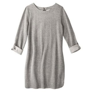 Merona Womens French Terry Dress   Gray   XL