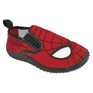Toddler Boys Spiderman Water Shoes   Black 9