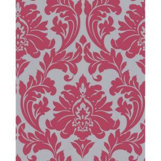 Majestic Wallpaper   Hot Pink