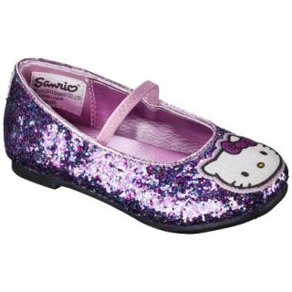 Toddler Girls Hello Kitty Ballet Flat   Multicolored 8