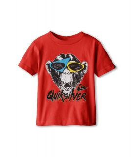 Quiksilver Kids Monkey Biz Tee Boys T Shirt (Red)