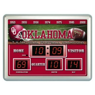 Team Sports America Oklahoma Scoreboard Clock