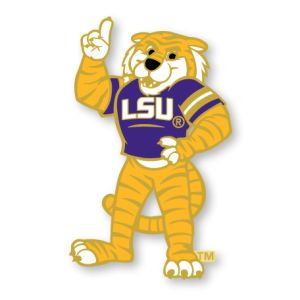 LSU Tigers AMINCO INC. Mascot Pin Aminco