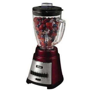Oster 12 Speed Blender   Red (6 Cup)