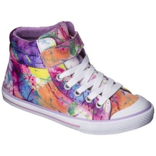 Girls Xhilaration Garalee High Top Sneakers   Purple 5