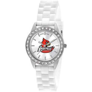 Louisville Cardinals Game Time Pro Womens Frost Watch