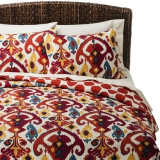 Mudhut Dasha Reversible Quilt Set   Queen
