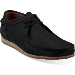 Clarks Wallabee Run Shoes  Mens,  Black NUBUCK,  11