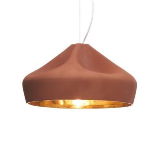 Pleat Box 19 Inch Pendant Light