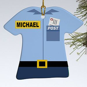 Personalized Christmas Ornaments   Mail Man