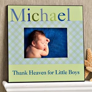 Personalized Baby Boy Picture Frames   Just for Them