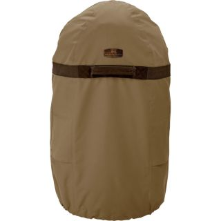 Classic Accessories Smoker Cover   Tan, Fits Medium Round Fryers and Smokers up
