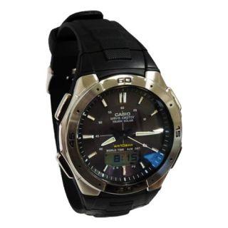 Casio Mens Solar Waveceptor Watch, 100 Meter WR, Resin, WVA 470J 1A Watches