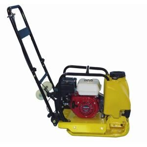 Kushlan 5.5 HP Plate Compactor with Honda Engine and Water Tank KPC160H W