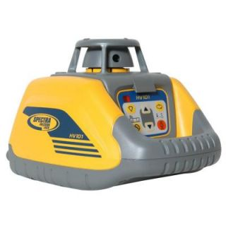 Spectra Precision Laser Level with Visible Beam Self leveling Laser for Interior Applications HV101
