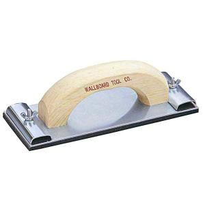 Wal Board Tools 3 1/4 in. x 9 1/4 in. Tempered Aluminum Base Plate Hand Sander 34 002