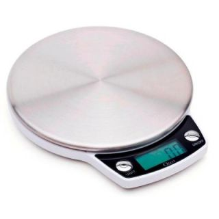 Ozeri Precision Pro Stainless Steel Digital Kitchen Scale with Oversized Weighing Platform ZK011