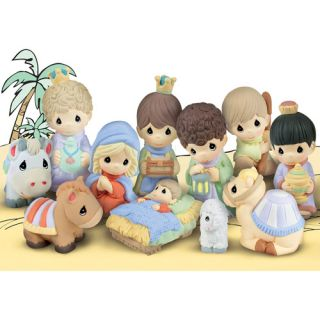 Precious Moments Nativity Set