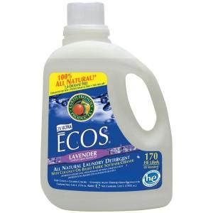 Earth Friendly Products 170 oz. Lavender Scented Liquid Laundry Detergent 937002