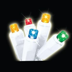 Brite Star 60 Light LED Multi Color Twinkling Icicle Lights 39 755 00