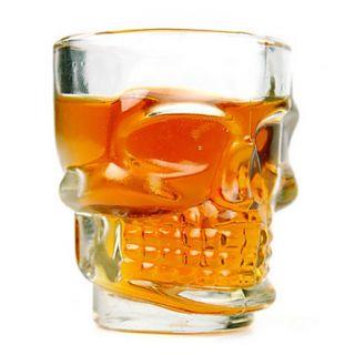 Cool Skull 2.5oz Whiskey Beer Shot Glass (4 Pack)