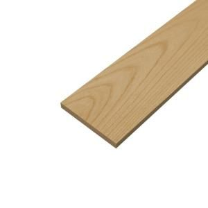 Sure Wood Forest Products 1 in  x 10 in  x 8 ft  S4S Poplar