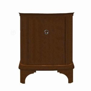 Porcher Savina 27 in. Vanity Cabinet Only in Cherry 85920 00.631