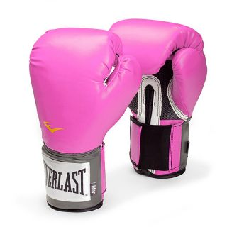 Everlast  12 oz. Pink Pro Style Boxing Gloves Exercise & Fitness