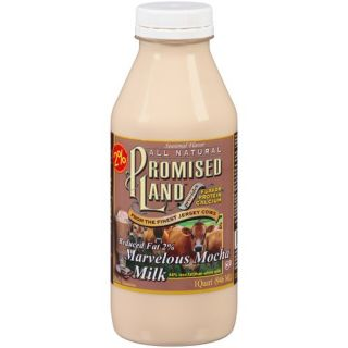 Promised Land Reduced Fat, 2% Marvelous Mocha Milk, 32 fl oz: Dairy, Eggs & Cheese