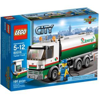 LEGO City Tanker Truck Play Set
