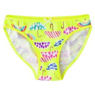 Xhilaration Girls Bikini Briefs   Yellow 16