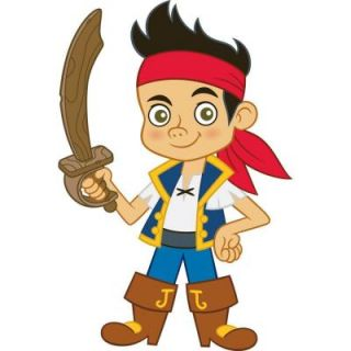RoomMates Jake and the Neverland Pirates Peel and Stick Giant Wall Decals RMK1793GM