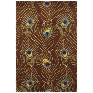 Kas Rugs Peacock Quill Multi 7 ft. 9 in. x 10 ft. 6 in. Area Rug CAT074879X106