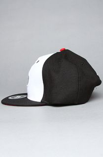 TRUKFIT The Tommy Trukfit Snapback Cap in Black White