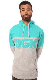 DGK Hoody City in Teal