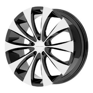"KMC Wheels KM679 Wheel with Gloss Black Machined (18x8""/5x120mm): Automotive"